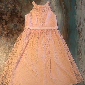 David's Bridal size 12  junior bridesmaid dress